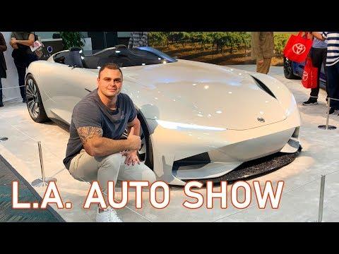 2019 LA Auto Show - Concept & Prototype Cars