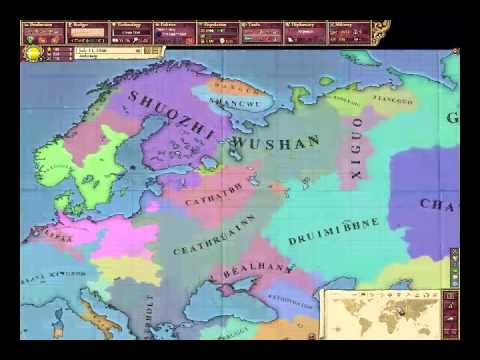 Victoria 2 Random Map Generator Mod Youtube