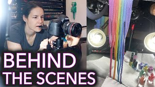 Behind The Scenes Nail Polish Collection Launch / Workflow