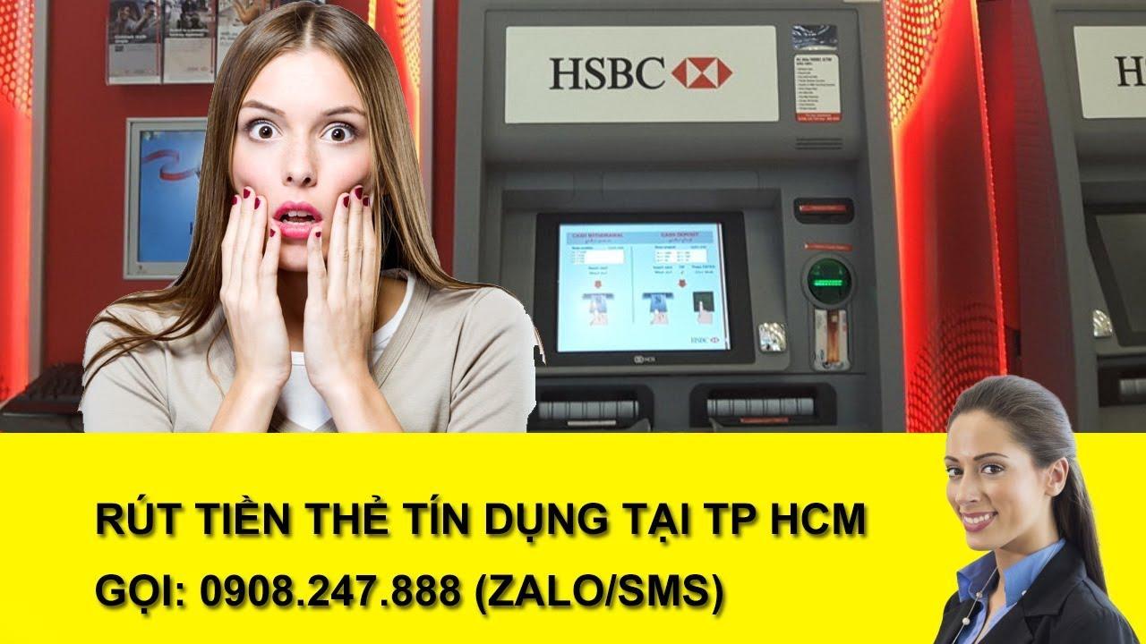 Đáo hạn thẻ tín dụng HSBC tại cây ATM 24/7 tiện lợi, không xếp hàng