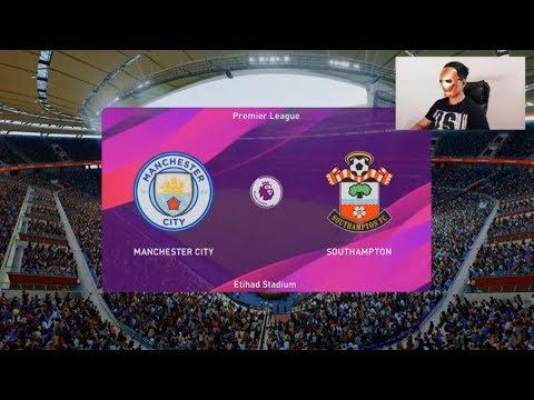 Pes Match 2020 - Manchester City vs Southampton