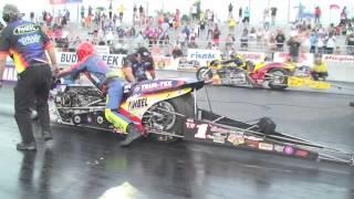 2015 idbl top fuel match race 2 david vantine vs larry mcbride