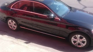 To de Uber Black com Mercedes C180