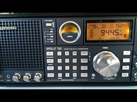 Shortwave broadcast of All India Radio @ 9445 kHz