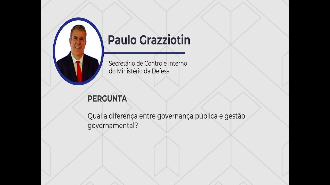 Qual a diferença entre governança pública e gestão governamental?