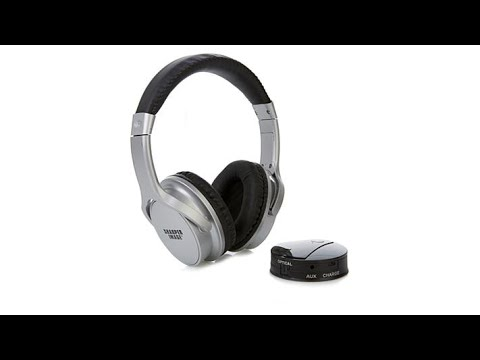 Own Zone Dlx Headphones By Sharper Image Youtube