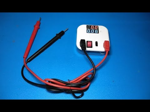 How to make DC Voltmeter and Ampere meter