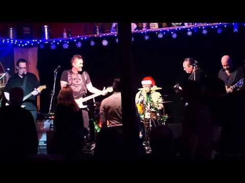 Men of the Blues Revue Dec 2014 Doug Rowell, Michael Quinby, Monti Amundson, Timmer Blakely, Justin Matz