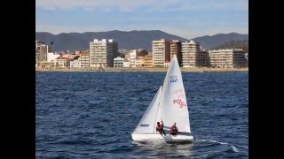 Yachting Oceanis 37 Tristaina Palamos Estartid Roses Blanes Barcelona Arenas Sea-Wind