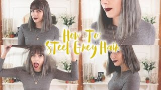 One of Charlie Joe's most viewed videos: How To Get Steel Grey Hair - Schwarzkopf Igora Royal Absolutes Silver White | Sofairisshe