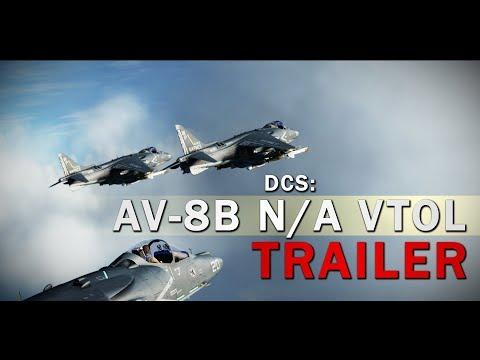 DCS: AV-8B N/A VTOL - Pre-purchase Trailer