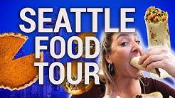 BEST CHEAP EATS IN SEATTLE WASHINGTON!! | Travel Snacks