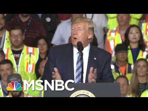 Donald Trump Battles Self-Made Crises As Markets Tumble | The Beat With Ari Melber | MSNBC