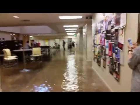 Flash flood at BYU-Idaho. Manwaring Center flooding! . July 15th 2014