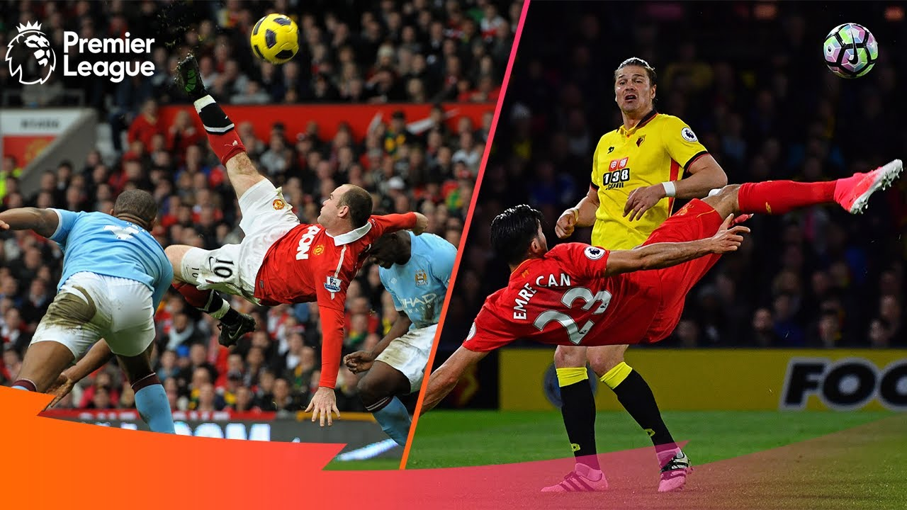 Download STUNNING Acrobatic, Overhead & Bicycle Kick Goals   Premier League Edition