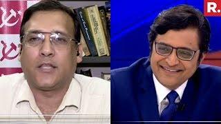 Arnab Goswami Vs Dr Fuad Halim, CPI(M) On #BribeForVotes