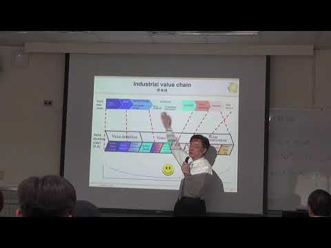 Professor Walter Wang, Taiwan future electronic and software industries 28/03/2018 (PART 2)
