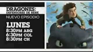 Cartoon network LA Dragones defensores de berk Nuevos episodio Marzo 2014 promo