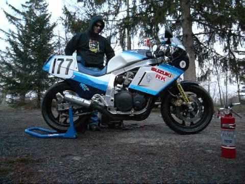 Suzuki Gsxr Race Bike