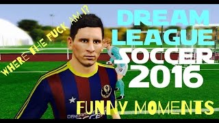 DREAM LEAGUE SOCCER 2016 [FUNNY MOMENTS]