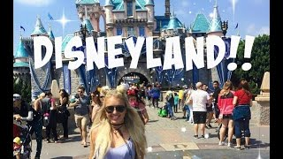 Vlog | You're Never Too Old For DISNEYLAND!!!! | TheBlondeBeautyy