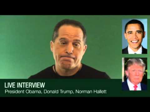 Interview with Obama and Trump – Week 100 – 4 Minute Drill for Traders