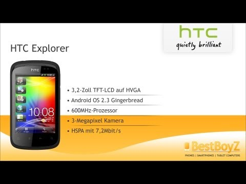 Review: HTC Explorer | BestBoyZ