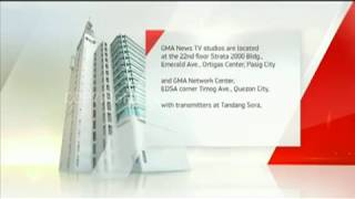 GMA News TV Sign On and Sign Off (2017)