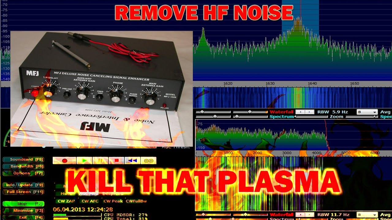 MFJ 1026 Removing Noise and Interference on HF Radio