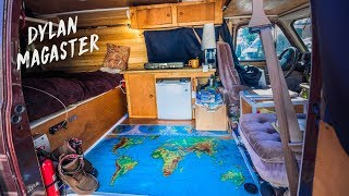 I spent ONE MONTH CONVERTING my VAN into my OFF GRID MICRO HOME
