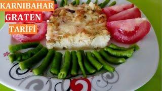 Karnabahar Graten Tarifi- Karnabahar Yemekleri-Karnabahar ile yapılan yemekler