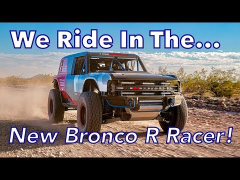 New Bronco R Racer Revealed - Ford Takes Us For A Thrill Ride - Plus 1968 Bronco Baja Blast!