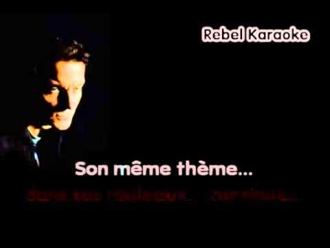 Francis Cabrel - Hors Saison Karaoké