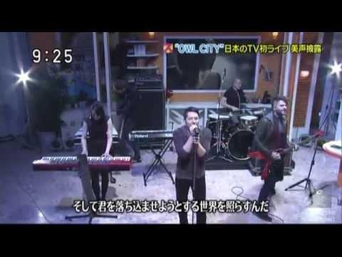 Owl City - Shooting Star Japanese TV Show 2012/11/06