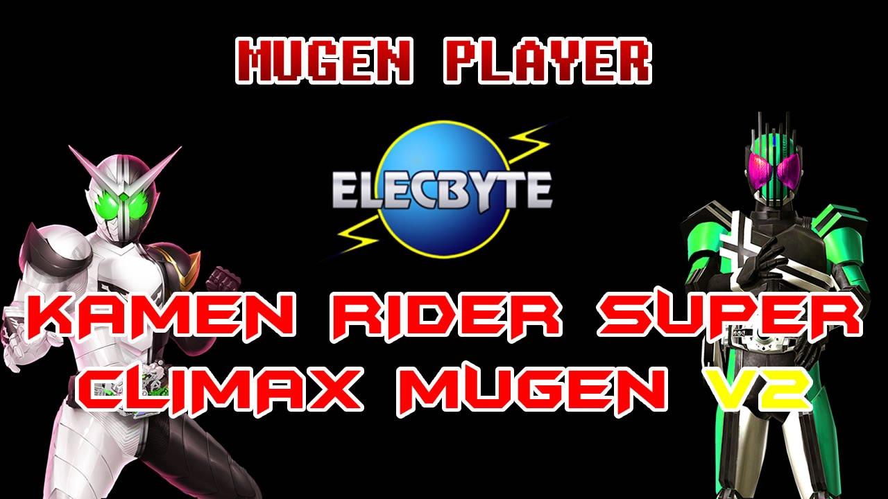 KAMEN RIDER SUPER CLIMAX MUGEN V2 2016