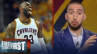 Nick Wright on how LeBron's revamped Cavs are ready to face Warriors | FIRST THINGS FIRST