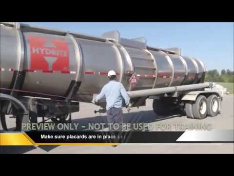 Hazmat Transportation: Driver Training