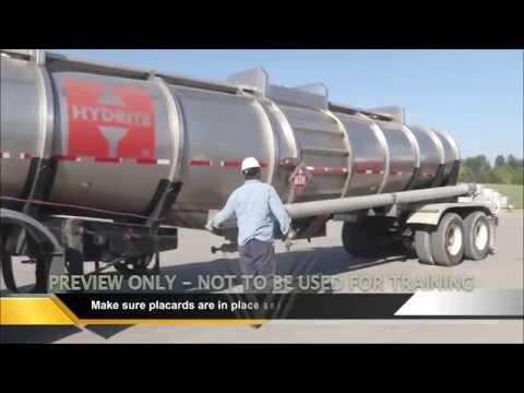 Hazmat Transportation Driver Training YouTube – Hazmat Driver