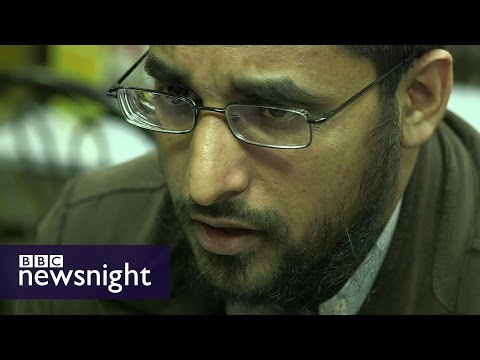 Mizanur Rahman: Anjem Choudary's right hand man  - BBC Newsnight