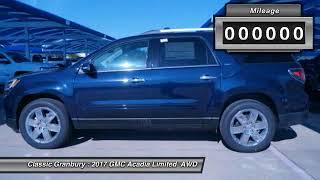 2017 GMC Acadia Limited Granbury TX, Weatherford TX, Cleburne TX 204485