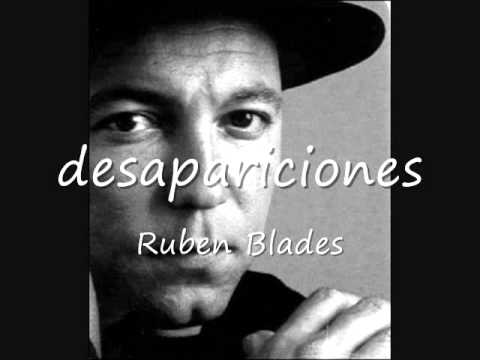 ruben blades desapariciones video er