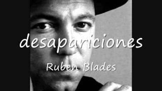 Desapariciones - Ruben Blades