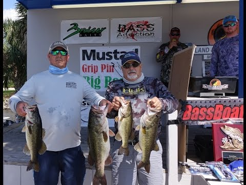FREE BASS TOURNAMENT BY BRUISER BAITS BASS ADDICTION GEAR MUSTAD HOOKS OKEECHOBEE