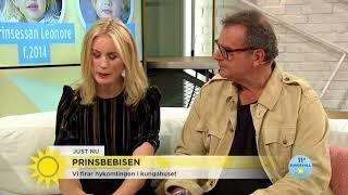"""Nya lillprinsen:""""Jag tror att de väljer ett oväntat namn"""" - Nyhetsmorgon (TV4)"""