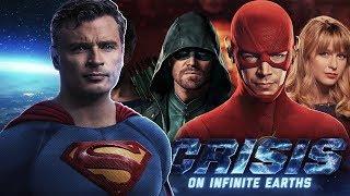 First Crisis on Infinite Earths Teaser Breakdown! Smallville Superman Scene and More!