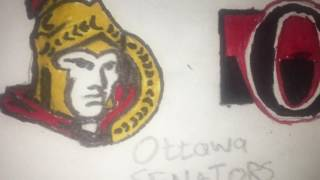 Ottawa Senators logo drawing