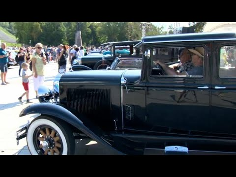 France 24:Baltic Way vintage car rally celebrates 1989 human chain for independence