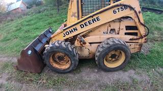 Buying and fixing a john deere 675b skid steer