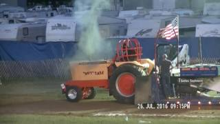 9,000LB ALTERED FARM  STOCK TRACTORS  BUTLER COUNTY, OHIO FAIR JULY 26, 2016