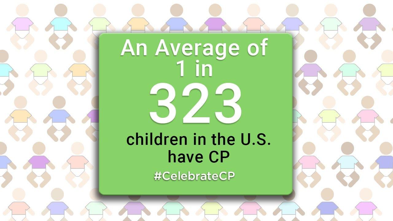 1 in 323 Children have CP